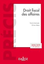 Download this eBook Droit fiscal des affaires 2018-2019