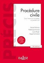Téléchargez le livre :  Procédure civile. Droit interne et droit de l'Union européenne