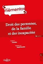 Téléchargez le livre :  Droit civil. Les personnes, la famille, les incapacités