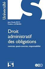 Download this eBook Droit administratif des obligations