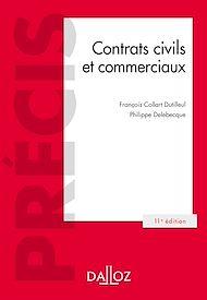 Téléchargez le livre :  Contrats civils et commerciaux - 11e éd.