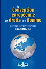 Download this eBook La Convention européenne des droits de l'homme - 4e éd.