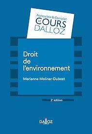 Téléchargez le livre :  Droit de l'environnement - 2e éd.