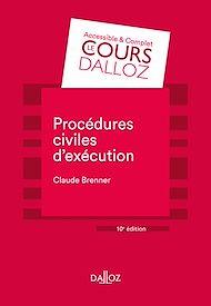 Téléchargez le livre :  Procédures civiles d'exécution - 10e éd.