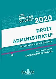 Téléchargez le livre :  Annales Droit administratif 2020