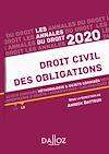 Télécharger le livre :  Annales Droit civil des obligations 2020