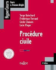 Téléchargez le livre :  Procédure civile 6e édition - 6e éd.