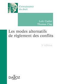 Téléchargez le livre :  Les modes alternatifs de règlement des conflits - 3e éd.