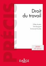 Download this eBook Droit du travail 2020 - 33e éd.