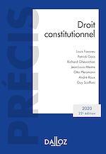 Téléchargez le livre :  Droit constitutionnel 2020 - 22e éd.