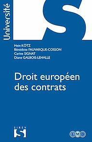 Téléchargez le livre :  Droit européen et comparé des contrats