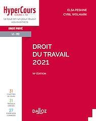 Téléchargez le livre :  Droit du travail 2021 - 14e ed.