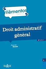 Téléchargez le livre :  Droit administratif général - 2e ed.