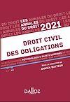 Télécharger le livre :  Annales Droit civil des obligations 2021