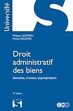 Download this eBook Droit administratif des biens - 13e ed.
