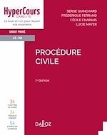 Download this eBook Procédure civile - 7e ed.