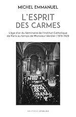 Download this eBook L'esprit des Carmes