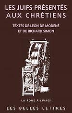Download this eBook Les Juifs présentés aux Chrétiens