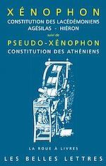 Download this eBook Constitution des Lacédémoniens, Agésilas - Hiéron