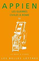 Téléchargez le livre :  Les Guerres civiles à Rome - Livre IV