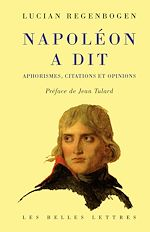 Download this eBook Napoléon a dit
