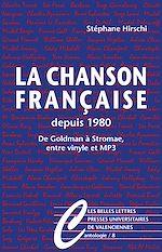 Download this eBook La Chanson française depuis 1980