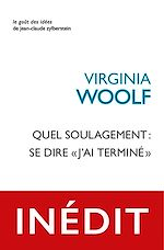 Download this eBook Quel soulagement : se dire « j'ai terminé »