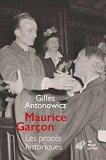 Download this eBook Maurice Garçon. Procès historiques
