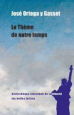 Download this eBook Le Thème de notre temps