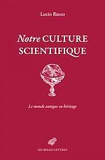 Download this eBook Notre culture scientifique