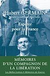 Télécharger le livre :  Espérer pour la France