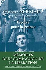 Téléchargez le livre :  Espérer pour la France