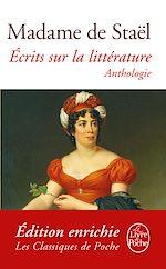 Download this eBook Ecrits sur la littérature
