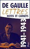 Télécharger le livre :  Lettres, notes et carnets, tome 4 : 1941-1943