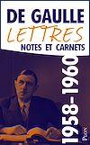 Télécharger le livre :  Lettres, notes et carnets, tome 8 : 1958-1960