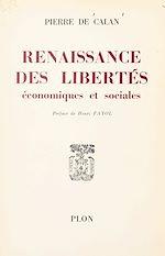 Download this eBook Renaissance des libertés économiques et sociales