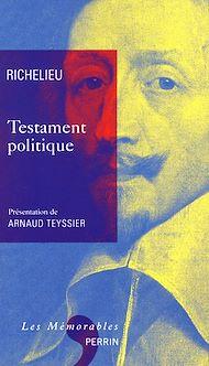 Téléchargez le livre :  Testament politique