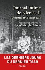 Download this eBook Journal intime de Nicolas II