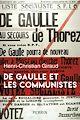Télécharger le livre : De Gaulle et les communistes