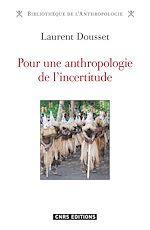 Download this eBook Pour une anthropologie de l'incertitude