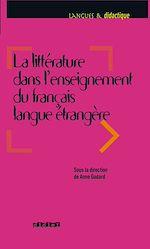 Download this eBook Littérature dans l'enseignement du FLE - Ebook
