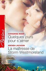 Les Medina Tome 2: Quelques jours pour s'aimer de Catherine Mann 9782280233217_w150