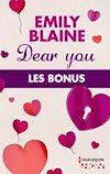 Télécharger le livre :  Dear You : les bonus de la série