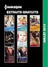 EXTRAITS GRATUITS HARLEQUIN JUILLET 2013