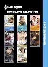 EXTRAITS GRATUITS HARLEQUIN NOVEMBRE 2013