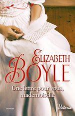 Télécharger le livre : Une lettre pour vous, mademoiselle