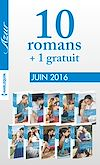 10 romans Azur + 1 gratuit (nº3715 à 3724 - Juin 2016)