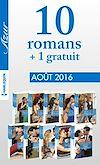10 romans Azur + 1 gratuit (nº3735 à 3744 - Août 2016)