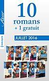 10 romans Azur + 1 gratuit (nº3725 à 3734 - Juillet 2016)