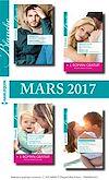 8 romans + 2 gratuits Blanche (nº1306 à 1309 - Mars 2017)